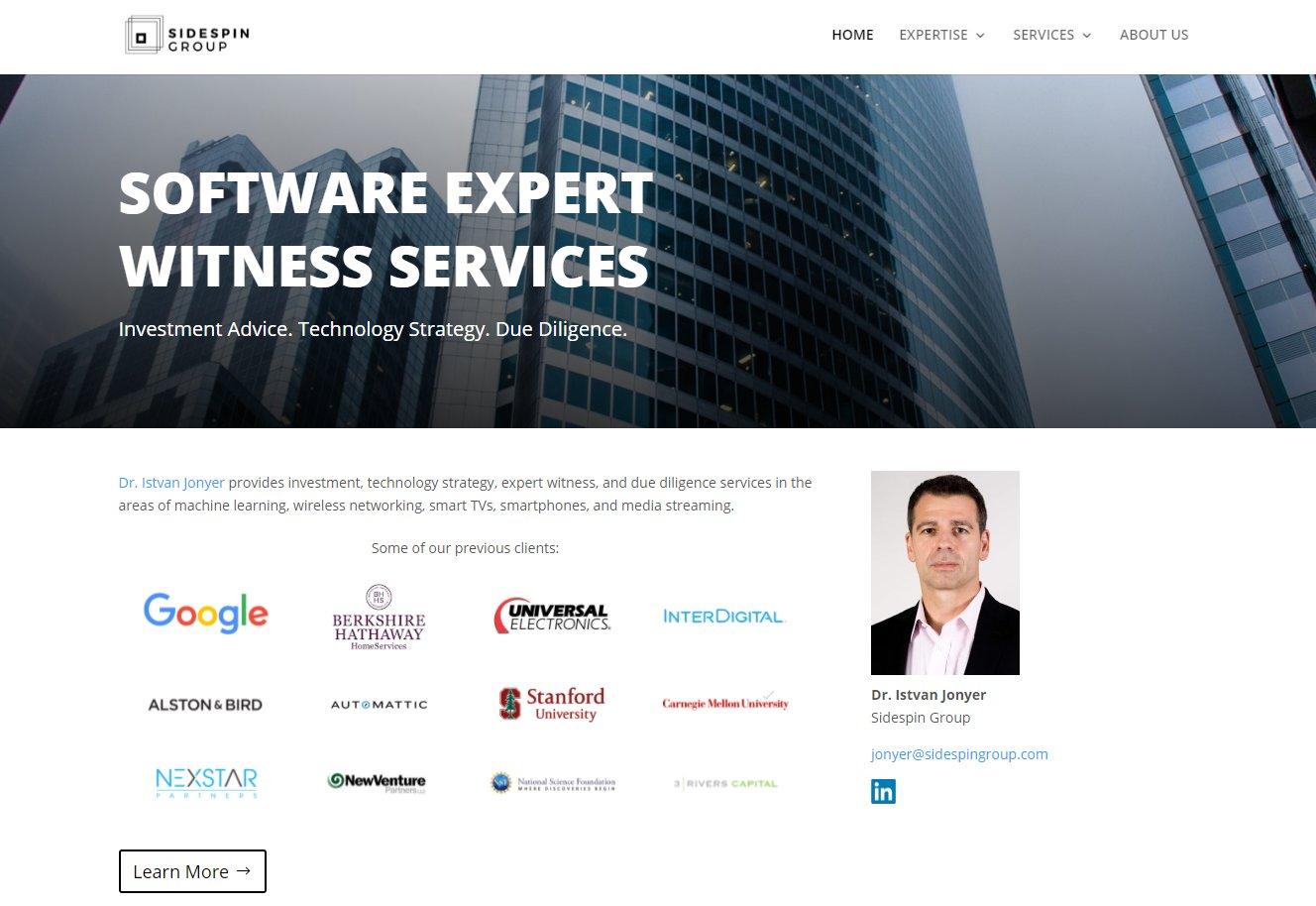 Nice software expert witness